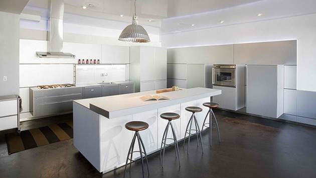 Modern White Kitchen Design Ideas Home Lover