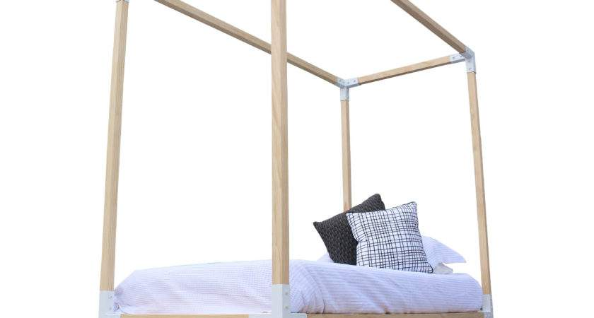 Mood Store Simple Four Poster Bed Nurani
