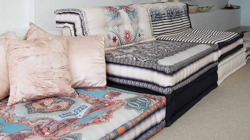 Moroccan Style Fabric White Walls Your Dream Home