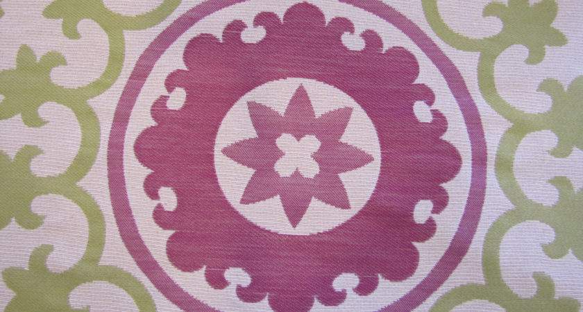 Moroccan Style Floral Upholstery Fabric