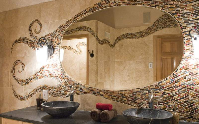 Mosaic Bathroom Ideas Designs Design Trends
