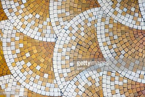 Mosaic Tiles Old House Getty