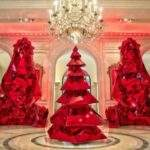Most Beautiful Christmas Trees Hotels Luxury