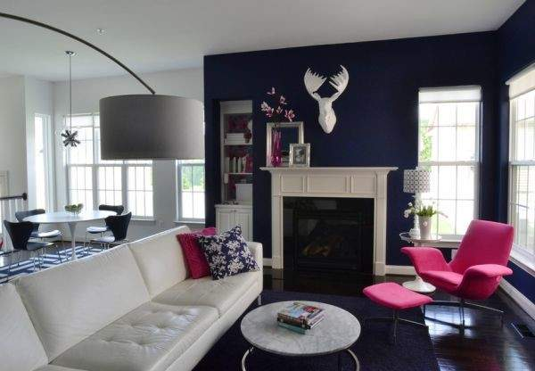 Navy Blue Living Room Decorating Ideas Home