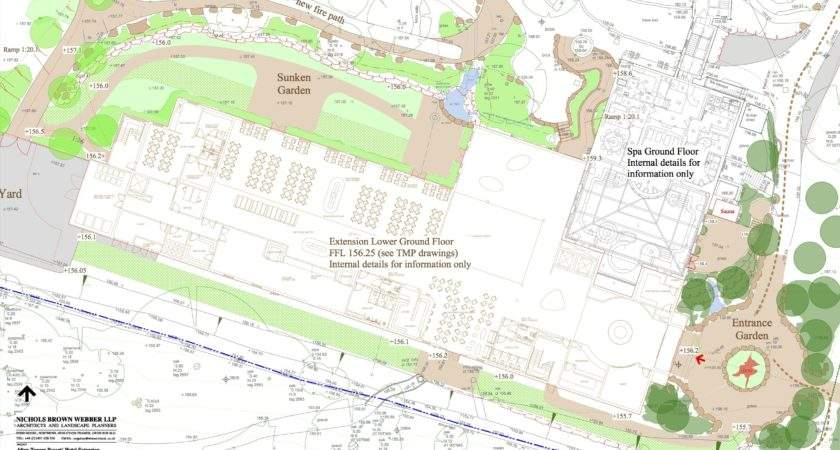 New Alton Towers Hotel Extension Restaurant Plans