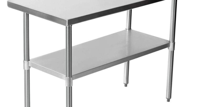 New Commercial Catering Table Stainless Steel Work Bench