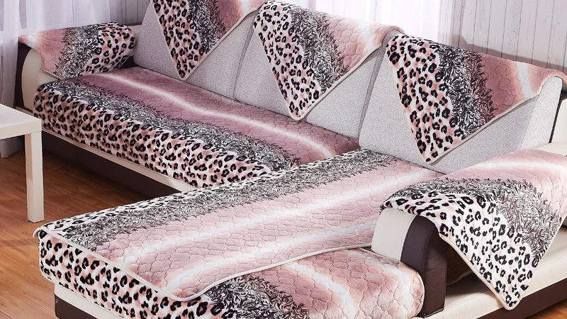 Nice Leopard Print Sofa Couch Cover