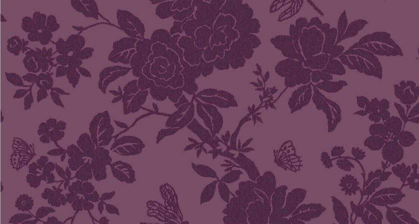 Nina Purple Floral Departments Diy