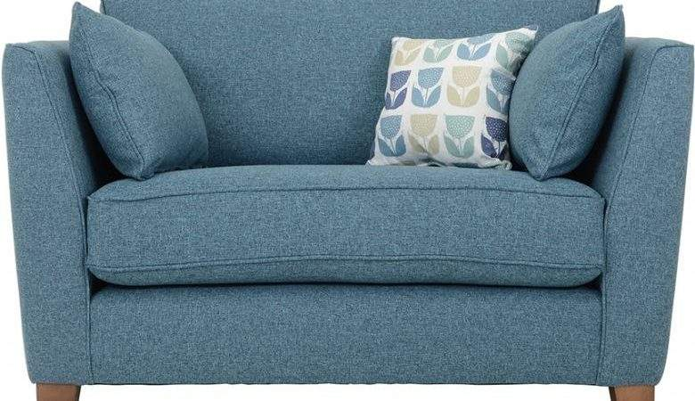 Norton Modern Fabric Snuggler Chair Lee Longlands