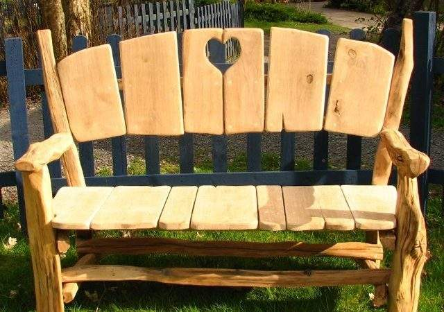 Oak Heart Garden Park Bench Benches All Products