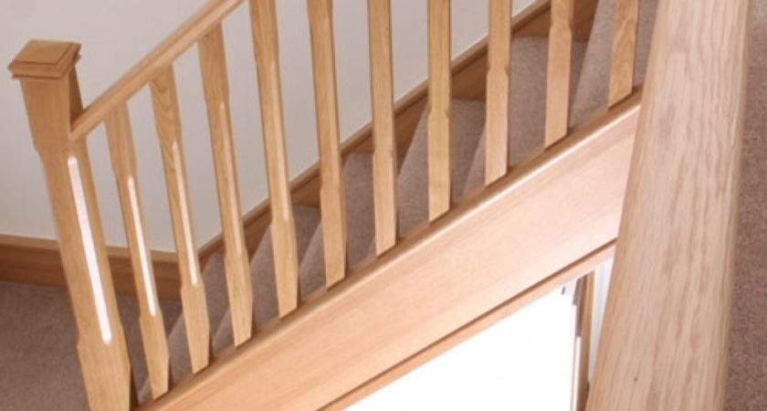 Oak Stop Chamfer Spindle Baluster Heritage