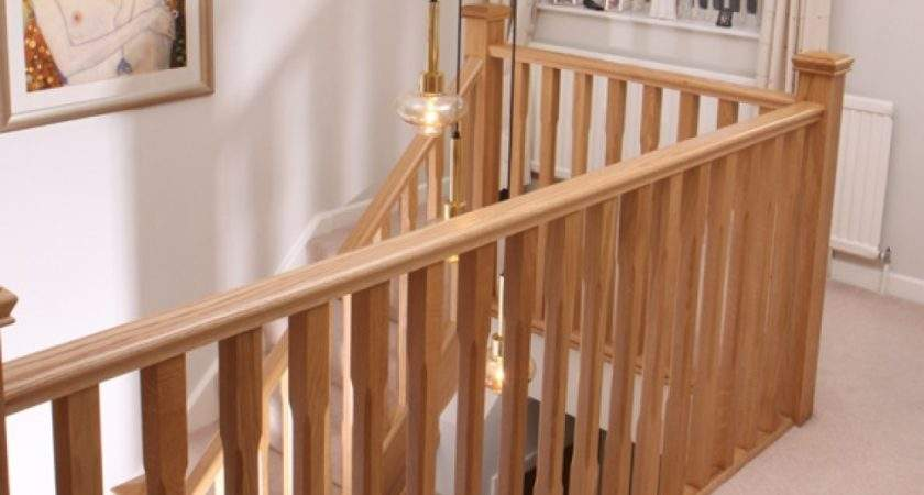 Oak Stop Chamfer Spindle Baluster