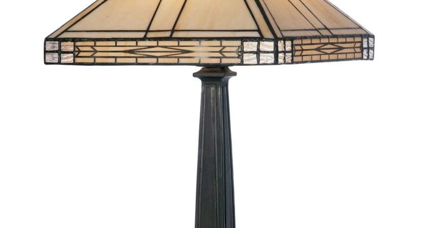 Oaks Lighting Ophelia Tiffany Table Lamp Next Day