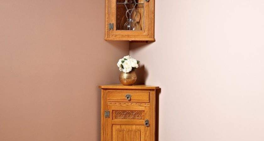Old Charm Hanging Corner Cabinet Place Homes
