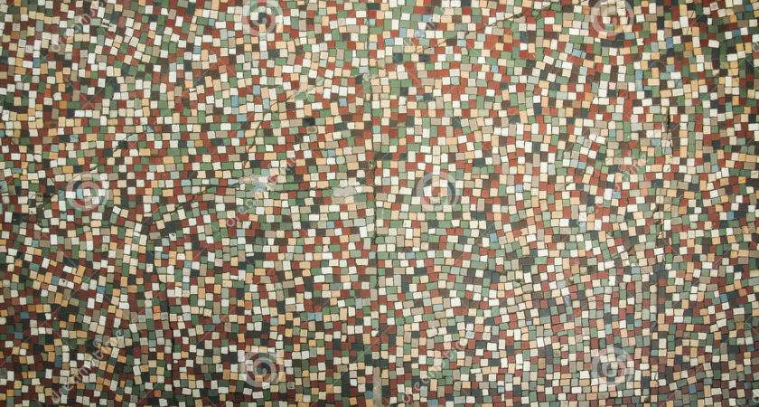 Old Fashioned Small Tiles Mosaic