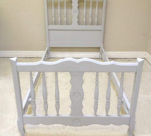 Old French Louis Style Single Bed