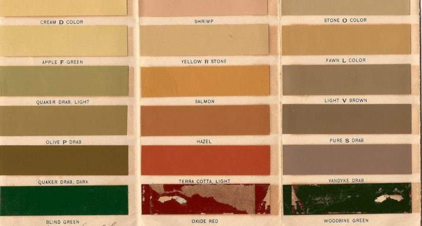 Old House Blog Historic Paint Colors