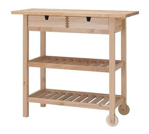 Once Upon Acre Ikea Kitchen Cart Hack Turning