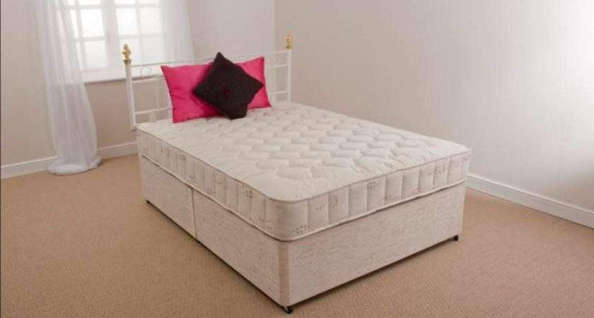 Open Coil Damask Covered Mattress