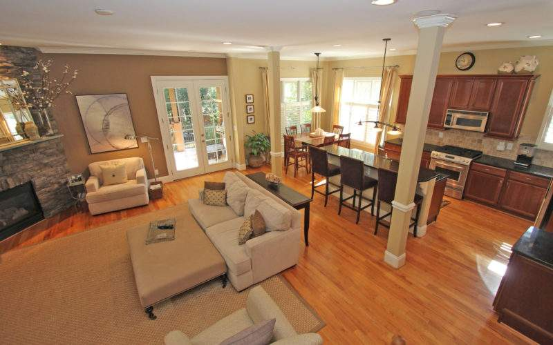 Open Plan Kitchen Dining Living Room Designs Home Combo