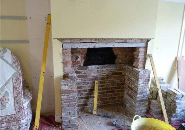Opening Building Fireplaces