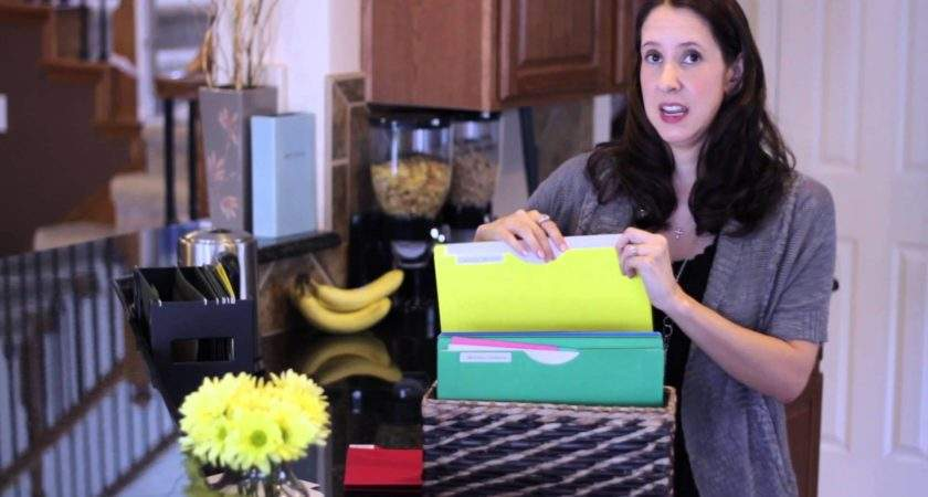 Organize School Papers Home Organization Youtube