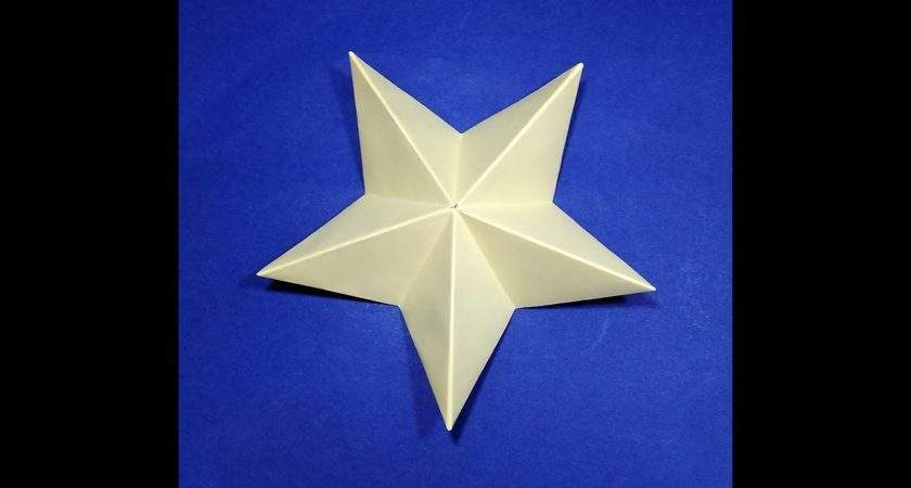 Origami Christmas Star Easy Paper Youtube