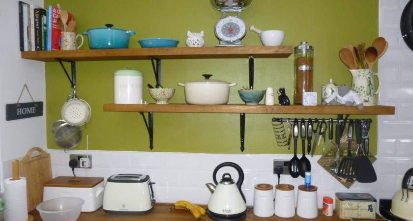 Our New Life Country Kitchen Shelves