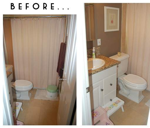 Our Small Bathroom Makeover Design Ideas