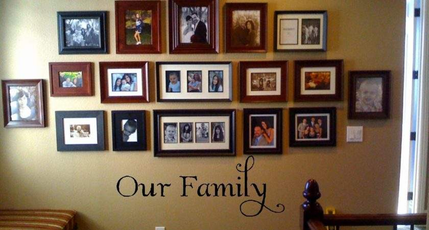 Our Vinyl Wall Decor Lettering Quote Phrase