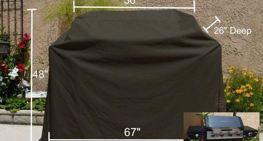 Outdoor Bbq Grill Cover Fit Broil Mate Burner Propane