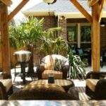 Outdoor Entertaining Area Covered Pergola