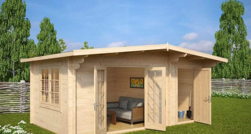 Outdoor Shed House Large Garden Room