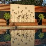 Outdoor Water Wall Features Feature