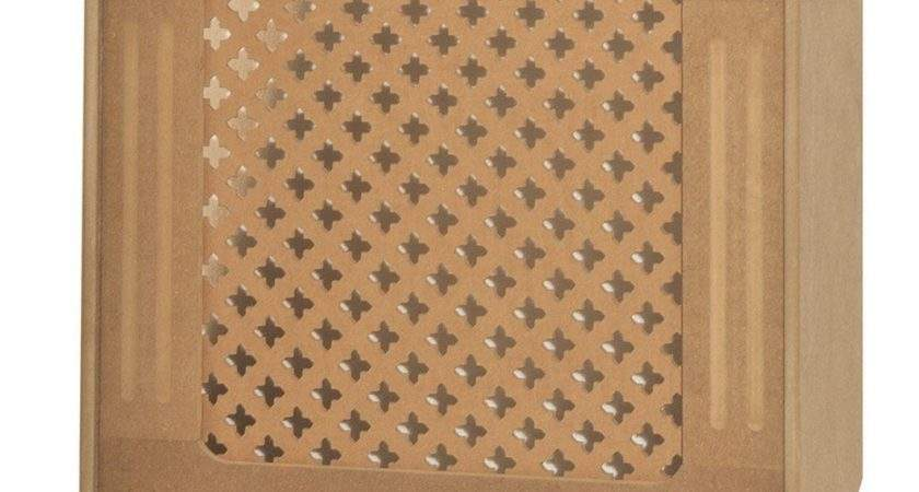 Oxford Radiator Cover Small Unfinished Mdf Traditional