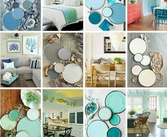 Paint Color Schemes Inspired Beach Colors