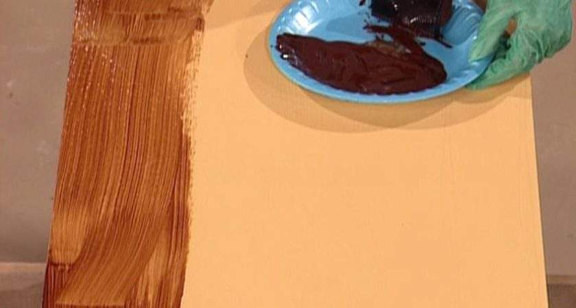 Paint Faux Wood Grain Tos Diy