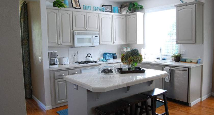 Paint Small Kitchen Light Color Interior