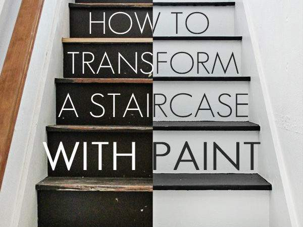 Paint Stairs Easy Way Maison Pax