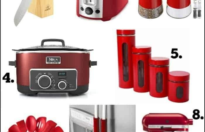 Paint Your Own Red Kitchen Island Radiant