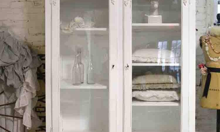 Painted Cottage Chic Shabby French Romantic Armoire Wardrobe