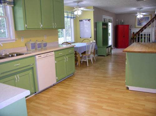 Painting Kitchen Cabinets Color Ideas Great Way