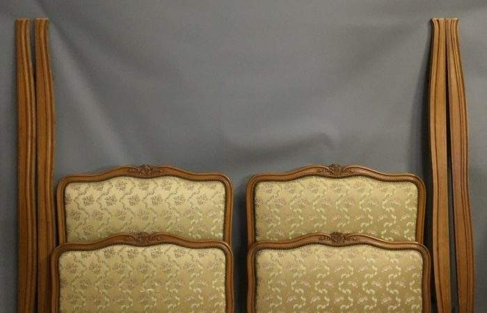 Pair French Louis Style Single Beds