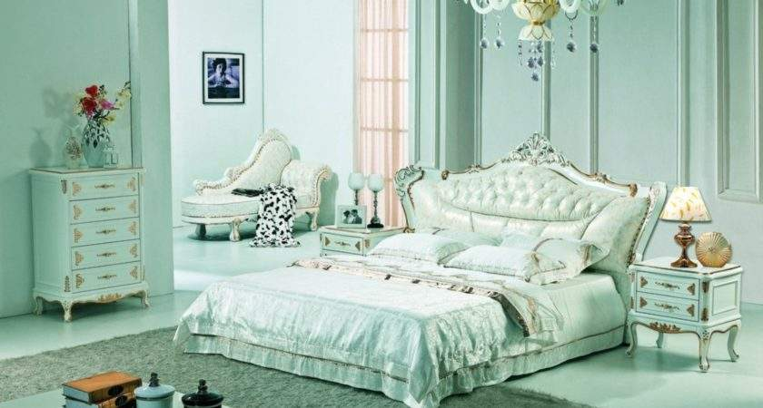 Pale Green Bedroom Neo Classical Style