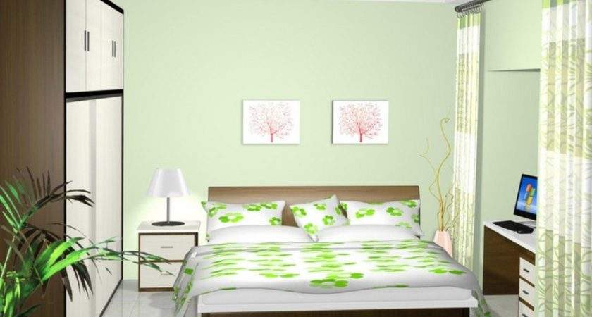 Pale Green Boys Bedroom Interior Design