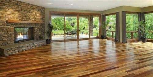 Pallet Wood Flooring More Reliable Priceless Appeal