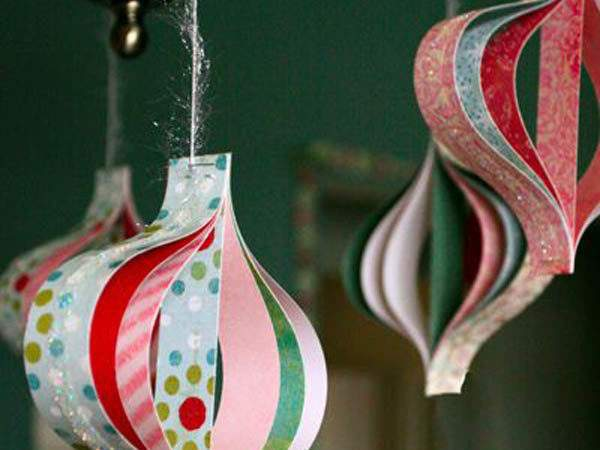 Paper Christmas Decorations Celebrations