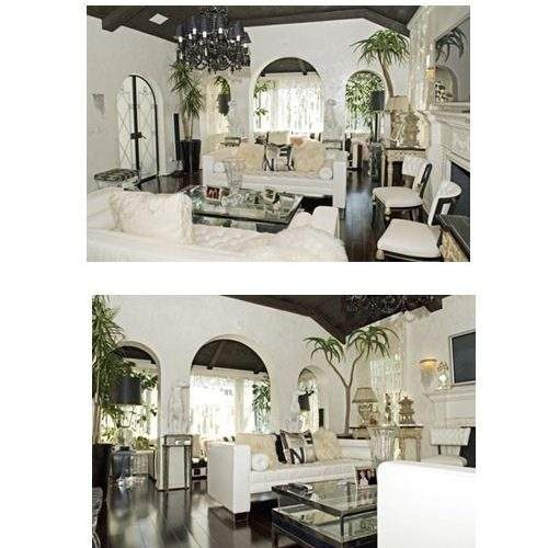 Paris Hilton Hollywood Regency Home