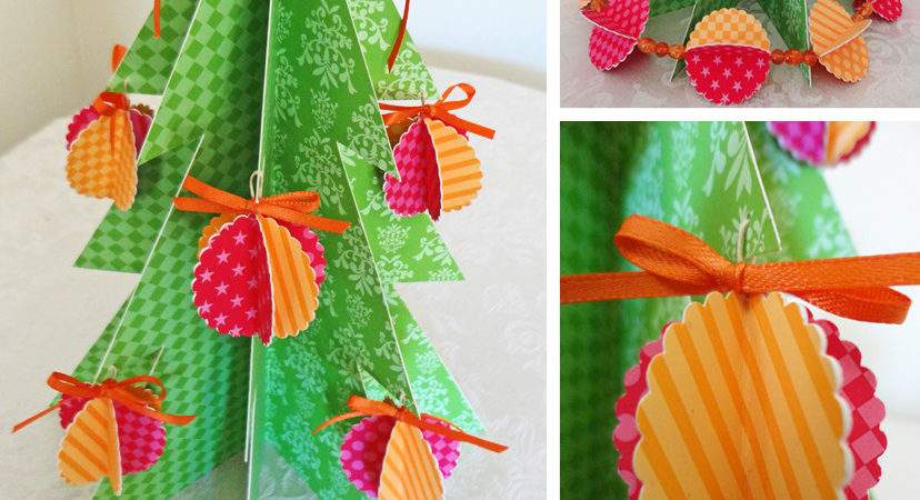Party Planning Center Printable Paper Christmas Tree