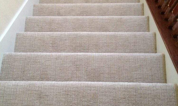Pattern Carpet Stair Case Plush Frieze Top